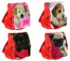 Personalised Girl's Puppy Dog Ruck Sack / Back Pack / Bag Pug Labrador Beagle
