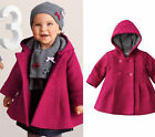 Baby Girl Jacket Coat, Pink / Purple Girl Outerwear Clothes
