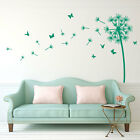 Flower Dandelion Wall Stickers Home Room Decor Art Vinyl Butterflies Decals A246