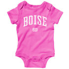 Boise 208 Idaho One Piece - State Broncos Spud Baby Infant Creeper Romper NB-24M