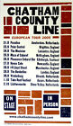 Chatham County Line European Tour 2005 Hatch Show Print Letterpress poster