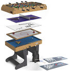 Riley 4ft Multi-Games Table | Folding or Static | 12 or 21 Game Pack £239.95 GBP on eBay