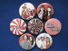 The White Stripes Band 7 New pin backs buttons SELECT SIZE badges NEAT