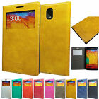 New Buffalo PU leather View Flip Case Cover For Samsung Galaxy Various Phones