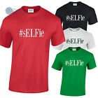 ELFie Funny #sELFie Christmas T-Shirt Secret Santa, Stocking Filler Gift Idea