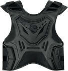 ICON STRYKER MOTORCYCLE VEST BLACK STEALTH FIELD ARMOR NEW STREET RIDER