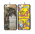 Alice in Wonderland with Tardis Style Pattern Case Cover For iphone 5 5GS