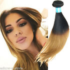 AU New Ombre Peruvian Real Human Hair Extension 100g/pc 1b/27# Straight Haar