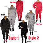 Ladies Loungewear Womens Sweatshirt Joggers Hooded Tracksuit Pants Studded