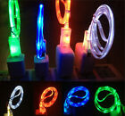 LED Light Micro USB Charger Data Sync Cable for HTC LG Android Phones