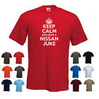'Keep Calm and Drive a Nissan Juke' Funny Car Birthday t-shirt Tee
