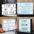 CINEMATIC LIGHTBOX -Vintage-Style Cinema Sign-Wedding/Party/Shop Decoration-Gift
