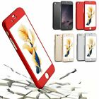 Luxury Hybrid 360° Full Protect Hard Case + Tempered glass For iPhone 6 6s Plus