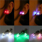 Bright Earring Ear Stud Cool Colorful LED Luminous for DJ Dance Party Bar