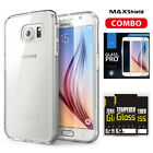 SAMSUNG Galaxy S6 Case Cover,TAGGSHIELD Crystal Shield Case + Glass SP Combo