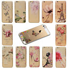 Hot Flower Transparent Ornament Hard Case Cover For iPhone 6 6 Plus 6s 6s Plus