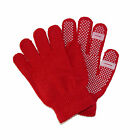 New CTM Womens Grip Knit Texting Winter Gloves
