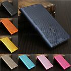 Mesh Flip PU Leather PC Cover Smart Case For Samsung Galaxy Note 5/S6/S6 Edge +