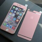 Matt Pink 9H Tempered Glass Film Protector Front+Rear for iPhone 6 Plus/ 6S Plus