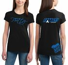 MOTO GIRL T SHIRT YEAH I'M PRETTY FAST YOUTH JUST RIDE MX MOTOCROSS KX KTM YZ CR