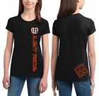 MOTO GIRL NUMBER PLATE T SHIRT YOUTH JUST RIDE RACE MX MOTOCROSS YZ CR KX KTM