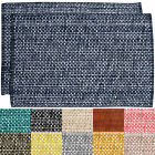 "Trends Collection Two Tone 100% Cotton Woven 13"" x 19"" Placemat 2, 4, or 6 Pack"