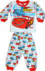 Pajamas Pyjama Disney Cars Flash McQueen New Cotton - Sizes 1 to 3 Years