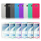 FLIP TPU SOFT SILICON GEL CASE COVER FOR SAMSUNG GALAXY NOTE 3 NOTE4 NOTE5