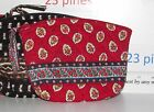 VERA BRADLEY CHOOSE 1 SMALL OLDER STYLE  COSMETIC BAG VINTAGE PATTERNS ALL MINT