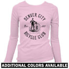 Denver Bicycle Club Women's Long Sleeve T-shirt LS - Cycling Cyclist Bike - S-2X