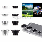 4 in1 Fish Eye+Wide Angle+Macro+Telephoto Lens Camera Kit For Smart Phone