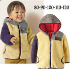 Boys Girls Fleece Outerwear Jacket (Hoods) 6M 1 2 3 4T - Baby & Kids Warm Winter