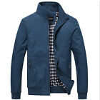New Hot Men's Slim collar jackets fashion jacket Tops Casual coat outwear MA