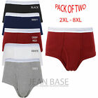 New Mens KAM King Size Briefs Pants Designer Stretch Underwear Cotton 2XL - 8XL