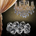 10x Pure Clear Crystal Glass Chandelier Light Ball Prisms Hanging Drop Pendant