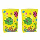 CHILDS KIDS SEA WORLD ARM BANDS SWIM INFLATABLE SWIMMING ARMSBANDS FLOAT AGE 3-6