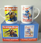 MUG CLASSIC WARTIME SERVICES RECRUITMENT POSTER RAAF ARMY NAVY RETRO VINTAGE