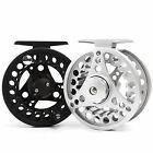 2/3/4/5/6/7/8 WT Fly Reel Aluminum Silver / Black Fly Fishing Reel For Trout