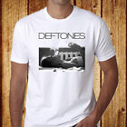 New Deftones Rock Band Men's White T-Shirt Size S-3XL - Free Shipping