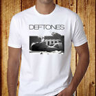 New Deftones Rock Band Men's White T-Shirt Size S-3XL - Free Shipping image