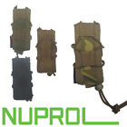 Nuprol PMC Pistol Open Top Pouch Airsofting Black MC OD Tan Molle Free Delivery