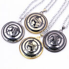 The Hunger Games  Sign Necklace 360 ° Rotatable 4 Colors Collection