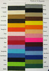 Craft Felt Fabric Sold In Squares 30cm X 30cm Sold In Packs Of 10 £6.99 FREE P+P