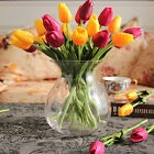 YW Home Decor Tulip Artificial Flower Latex Real Touch Bridal Wedding Bouquet