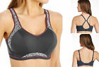 Freya Active 4004 Underwired Moulded Crop Top Sports Fitness Bra Zinc Print