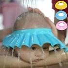 Adjustable Baby Kids Shampoo Cap Bath Shower Hat Eye Protector Bathroom Tool New