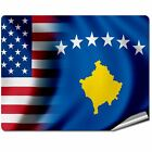 8* x 10* Decal / Sticker/Skin with Flag of Koxovo - Many Designs