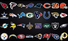 "NFL Fathead style Wall Decals 24"" $30.97 CAD on eBay"