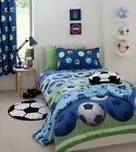 Catherine Lansfield Blue Football Bedding, Curtains Or Accessories