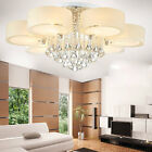 Modern LED Ceiling Lights Lampshade Crystal chandeliers Pendant Fixture 1288H